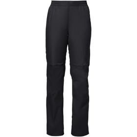 VAUDE Drop II Spodnie Kobiety, czarny
